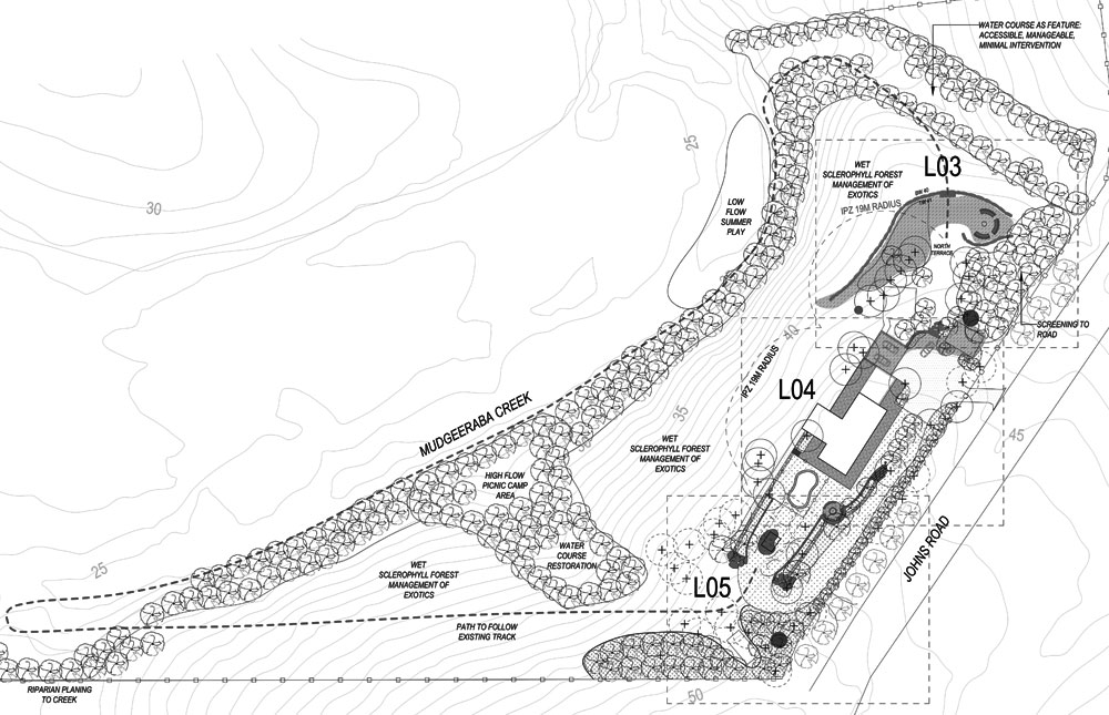 Johns Road Ennismore Field Landscape Architect