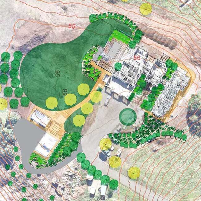 Midgen-Flat Ennismore Field Landscape Architect